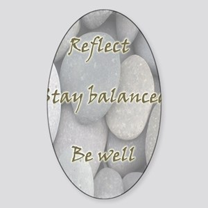 BewellFR Sticker (Oval)