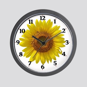 sunflowerclock Wall Clock