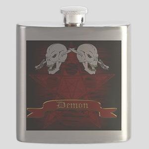 Demon Cards Flask