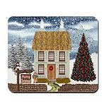 Christmas Cottage Mousepad