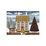 Christmas Cottage 5'x7'Area Rug
