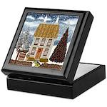 Christmas Cottage Keepsake Box