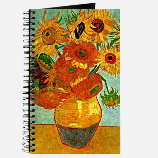 Van Gogh - Still Life Vase with Twelve Sun Journal