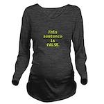 Paradox Long Sleeve Maternity T-Shirt