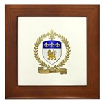 AMIOT Family Crest Framed Tile