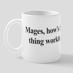 casty-spelly black Mug
