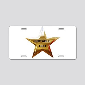 Superstar Aluminum License Plate