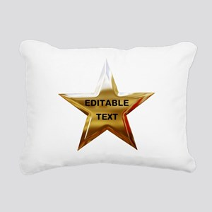 Superstar Rectangular Canvas Pillow