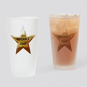 Superstar Drinking Glass
