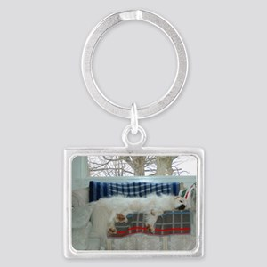 Great pyr Landscape Keychain