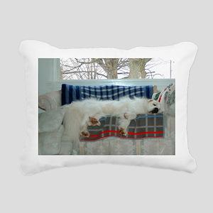 Great pyr Rectangular Canvas Pillow
