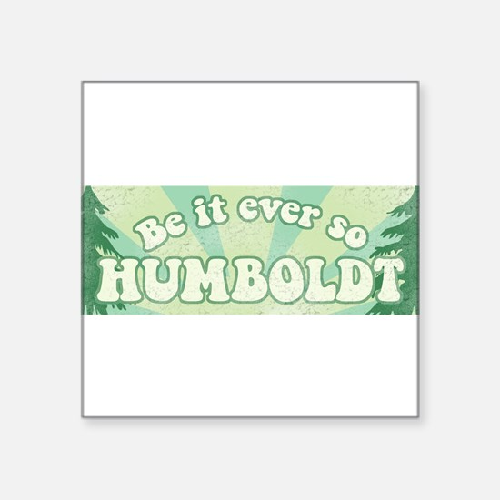 So Humboldt Rectangle Sticker