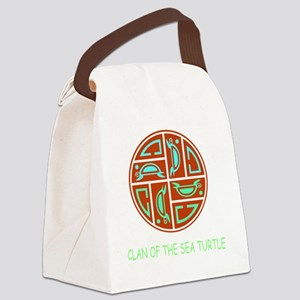 CLAN OF THE SEA TURTLE Canvas Lunch Bag