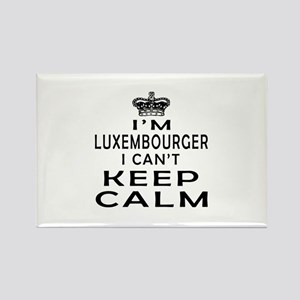 I Am Luxembourger I Can Not Keep Calm Rectangle Ma