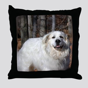 Great pyr Throw Pillow