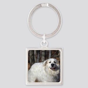 Great pyr Square Keychain