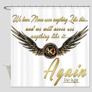 Katniss-I AM the Mockingjay Shower Curtain