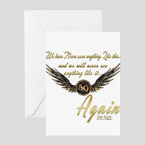 Katniss-I AM the Mockingjay Greeting Card