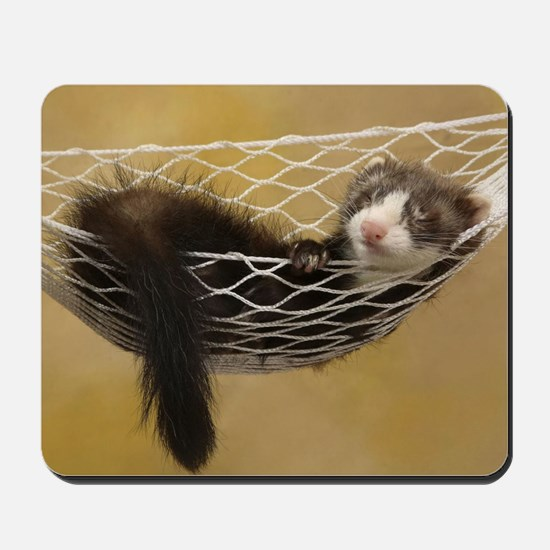 LF greeting Mousepad