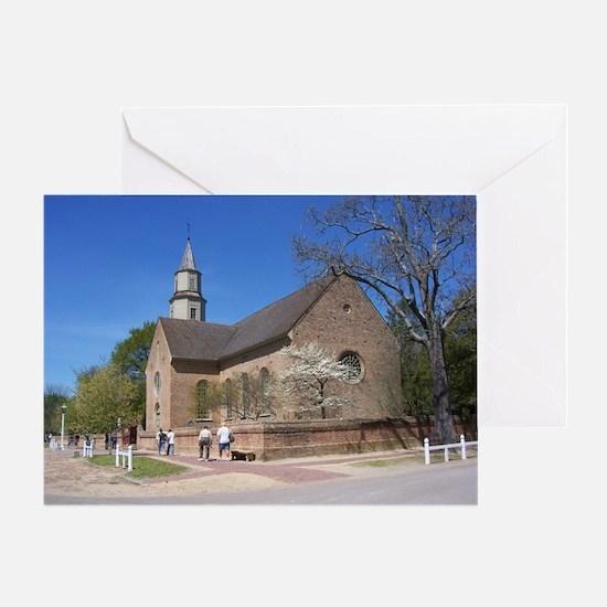 Bruton Parish Church, Williamsburg,  Greeting Card
