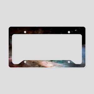 M17 The Omega Nebula Large Po License Plate Holder