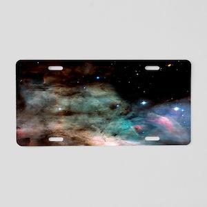 M17 The Omega Nebula Large  Aluminum License Plate