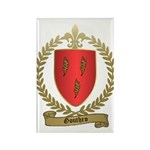 GOUTHRO Family Crest Rectangle Magnet (100 pack)