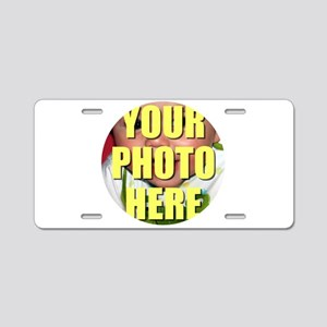 Personalized Circular Image Aluminum License Plate