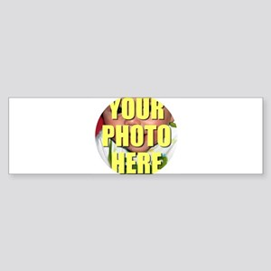 Personalized Circular Image Bumper Sticker