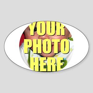 Personalized Circular Image Sticker