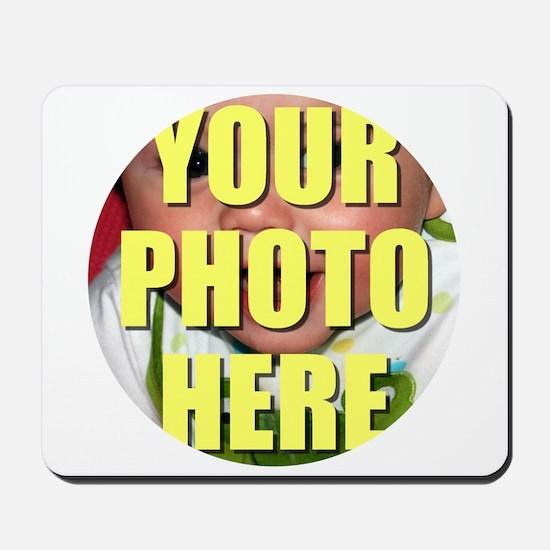 Personalized Circular Image Mousepad
