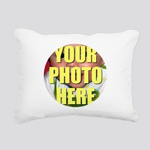 Personalized Circular Image Rectangular Canvas Pil