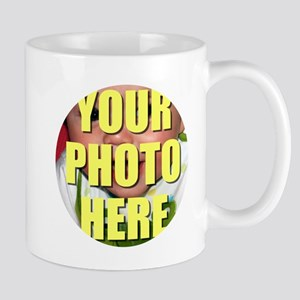 Personalized Circular Image Mugs