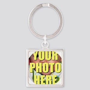 Personalized Circular Image Keychains