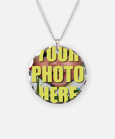 Personalized Circular Image Necklace