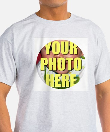 Personalized Circular Image T-Shirt