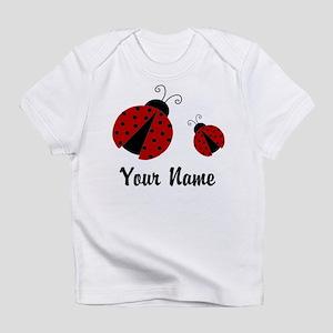 Ladybugs Red Personalized Infant T-Shirt