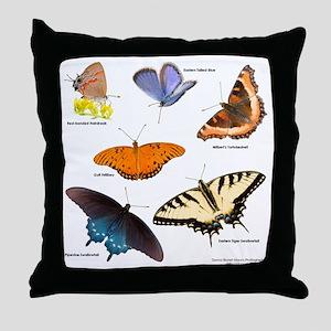 10x10_BflyT Throw Pillow
