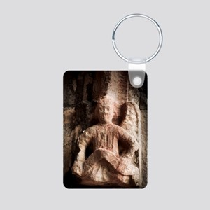 Rosslyn Angel Aluminum Photo Keychain