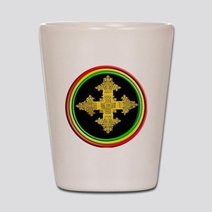 ethipia cross rasta performance jacket Shot Glass