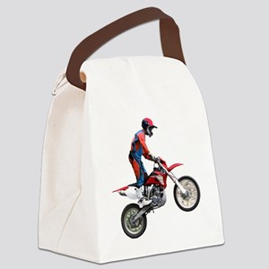 Flying Cycle Canvas Lunch Bag