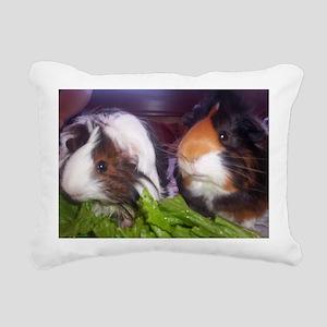 Guinea pigs, Watson and  Rectangular Canvas Pillow