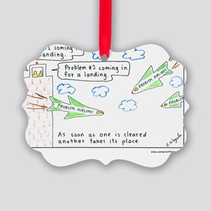 6-Problems10x10-Text1 Picture Ornament