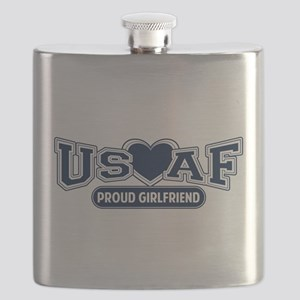 Air Force Girlfriend Flask