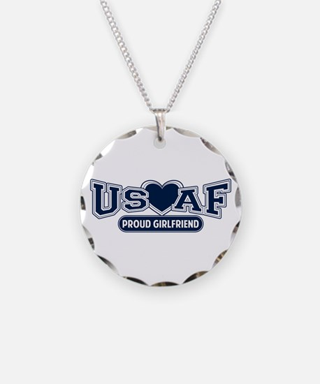 Air Force Girlfriend Necklace