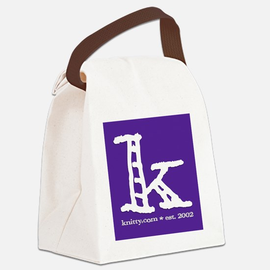 KonlyPURPLE Canvas Lunch Bag