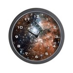 NGC3603 Nebula Wall Clock