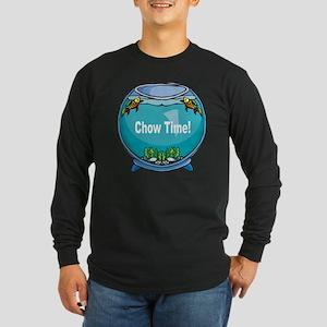 Chow Time! 2 Long Sleeve Dark T-Shirt