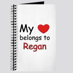 My heart belongs to regan Journal