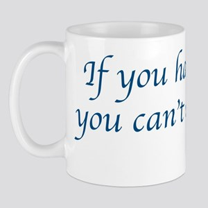 cantaffordk Mug